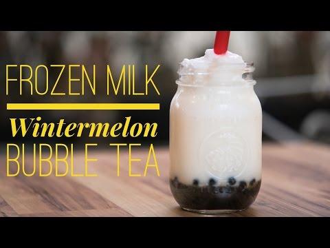 Frozen Milk Wintermelon Tapioca Drink Recipe by Bubble Tea Supply