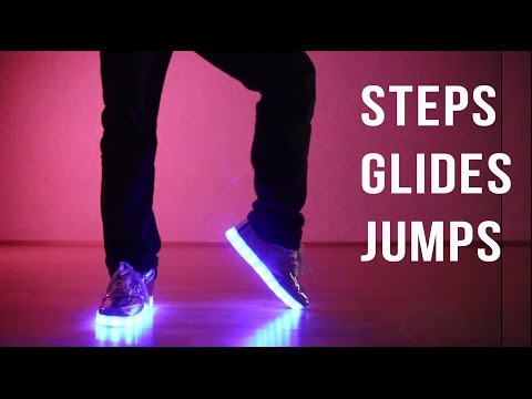 FOOTWORK TUTORIAL: 20 famous dance moves