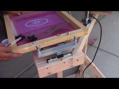 How to build a silkscreen shop Part 2