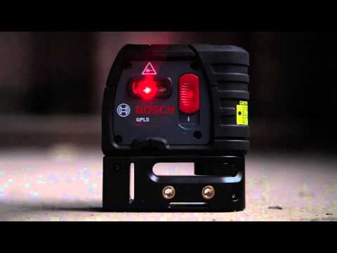 Bosch Power Tools - GPL5 Five Point Laser Product Video