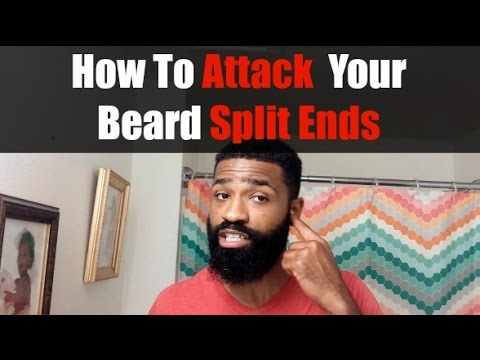 How To Attack Your Beard Split Ends