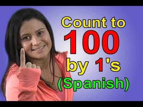 Count to 100 | Count to 100 in Spanish | Educational Songs | Spanish Numbers | Jack Hartmann