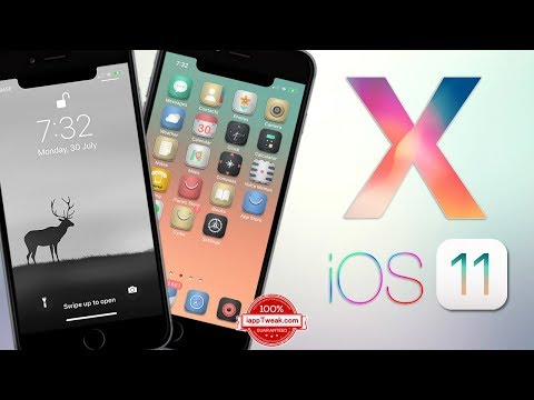 How To Bring iPhone X interface to Older iPhone iOS 11
