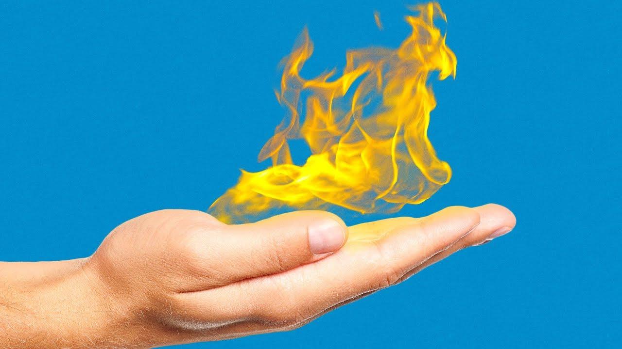 25 SMOKE AND FIRE TRICKS
