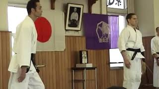 Self-defence demonstration from the Graduation Enbu – Aikido Senshusei /. Riot Police course.