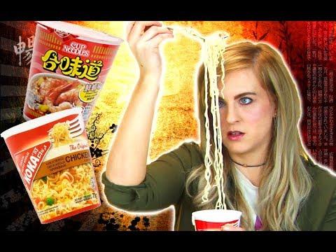 Irish People Try Ramen Noodles