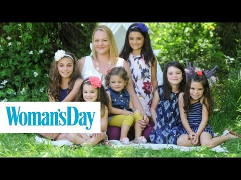 This Single Mom Adopted 6 Sisters So They Wouldn't Be Separated | Woman's Day