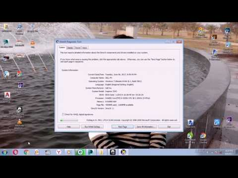 How to check system configuration of pc or laptop in all version of Windows operating system