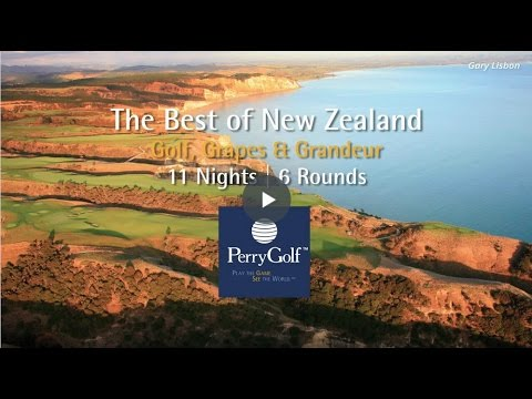 The Best of New Zealand Golf Vacation - PerryGolf.com