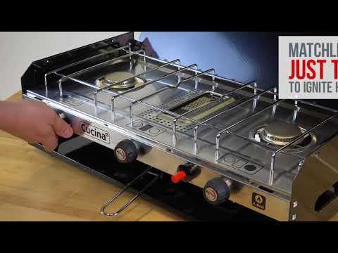 Kampa  Cucina Gas Hob  Grill  Product Overview