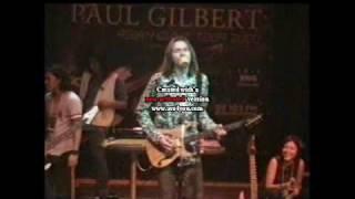 Paul Gilbert (Mr Big) Jammin with - Bandung Guitar Players @ Laga Cafe Bandung Indonesia July 2000