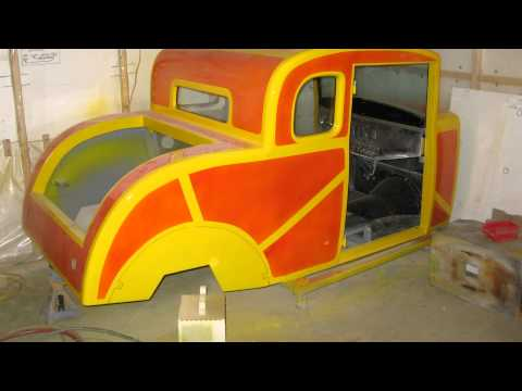 How to build a wood body hot rod, completely hand built!!