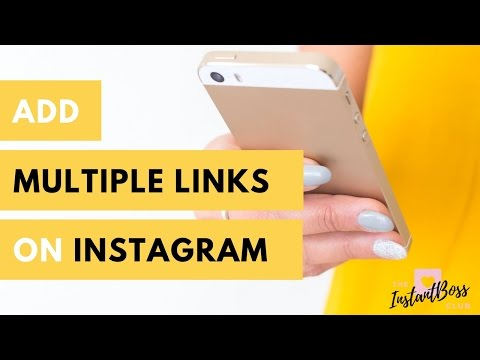 How to add multiple links on Instagram
