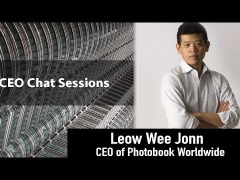 The CEO BizChat Series - Leow Wee Jonn (CEO of Photobook Worldwide)