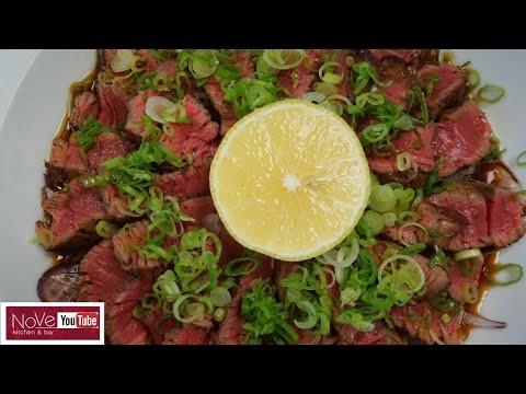 Beef Tataki - How To Make Sushi Series