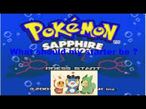 Pokemon sapphire dive through: episode 1 a new beg