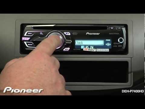 How To - DEH-P7400HD - Clock Settings