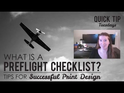 What is a Preflight Checklist? Tips for Successful Print Design