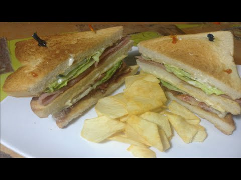 Clubhouse Sandwich -- Kitchen Channel--