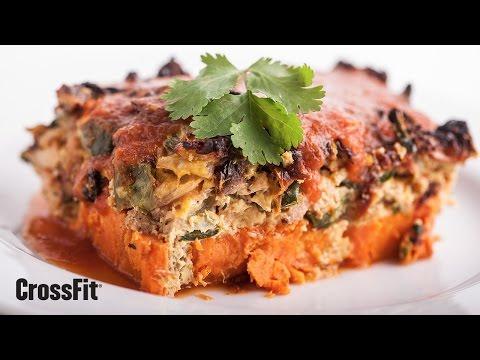 The CrossFit Kitchen: Chipotle Chicken Frittata