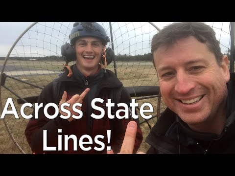 Epic Overnight Flight Across State Lines - Rain, 70+ MPH, and More