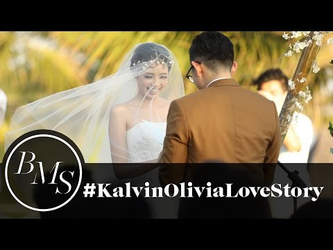 The Most Beautiful Wedding in Bali | Kalvin Lie and Olivia Lazuardy