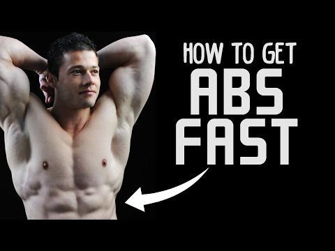 How to Get Abs FAST - Flatten Stomach in 30 Days