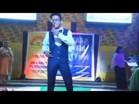 Boys Ramp Walk - Fresher's & Farewell Party 2016 - Shikshapeeth College