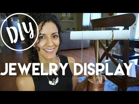 Trash to Treasure: Jewelry Holder DIY