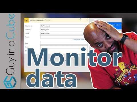 Power BI and Microsoft Flow - Monitoring your data