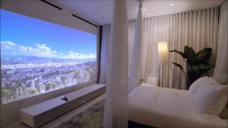 Sony 4K Ultra Short Throw Projector (non-official video)
