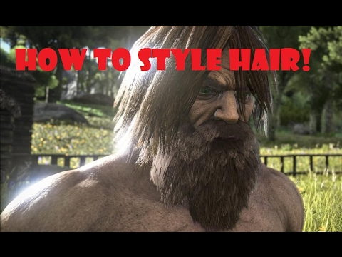 Ark Survival Evolved: How to Style Your Hair! w/ ZT Haas