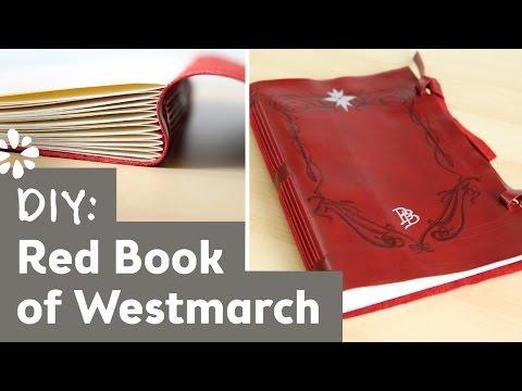 The Hobbit DIY Red Book of Westmarch | Sea Lemon