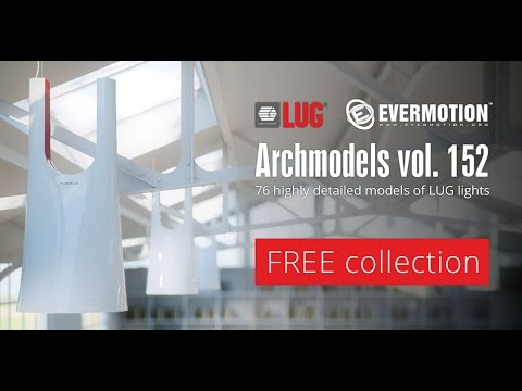 Evermotion Archmodels vol. 152 FREE lamps collection