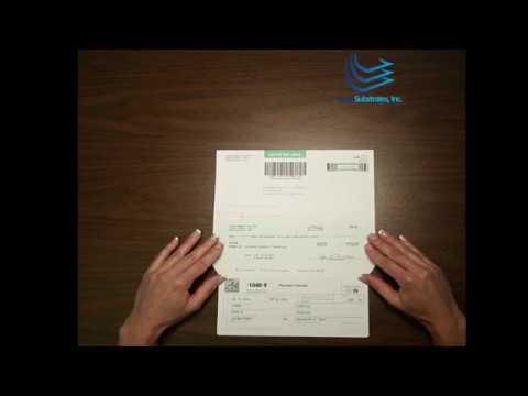 1040V Self-mailer Form by Lasersub