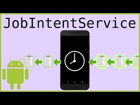 JobIntentService - Android Studio Tutorial