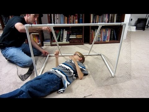 How to make a Soccer Goal with PVC