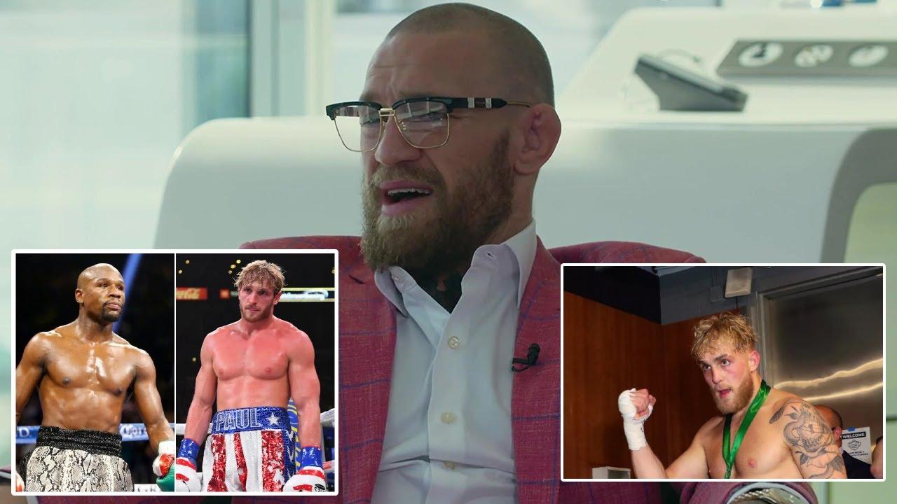 Conor Mcgregor Reacts to Jake Paul & Logan Paul vs Floyd Mayweather