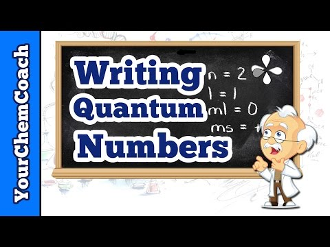 How to Write Quantum Numbers for the First Energy Level - Mr. Causey's Chemistry