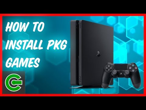 How to install and run PS4 PKG game format on firmware 4.05