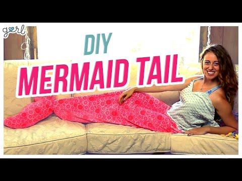 DIY Mermaid Tail Blanket! -- Do It, Gurl