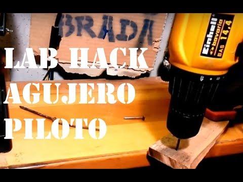 Lab Hack agujero piloto by PaoloBradaDIY