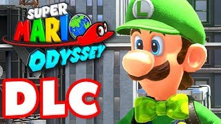 Super Mario Odyssey - Gameplay Walkthrough Part 37 - Luigi's Balloon World DLC! (Nintendo Switch)