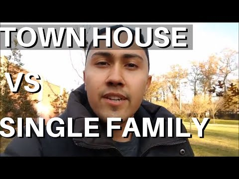 Buying a House: Townhouse vs Single Family