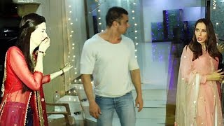 Salman Khan's GF Iulia Vantur Ignore Sohail Khan In Front Of Arbaaz Khan