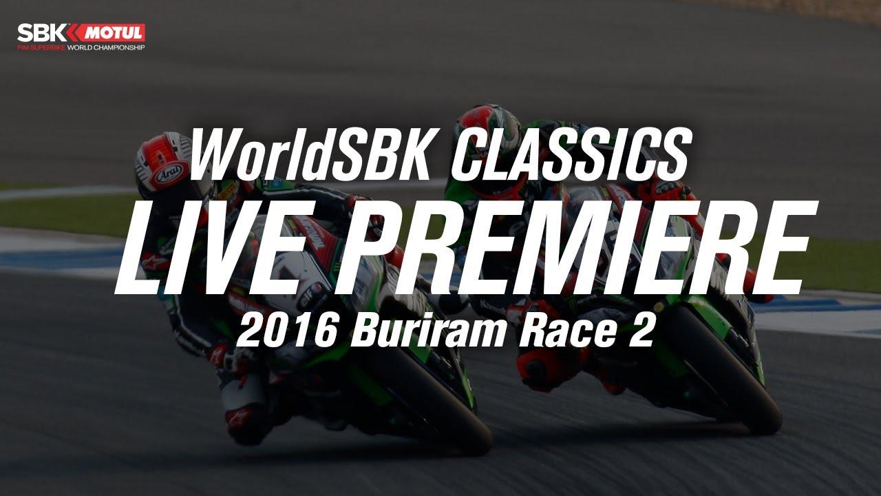 FULL Race 2 Buriram 2016