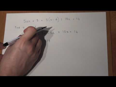 GCSE maths: Important identity problem