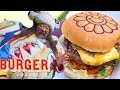 Takashi Murakamis Japanese Tempura Burger Is A Work Of Art The Burger Show