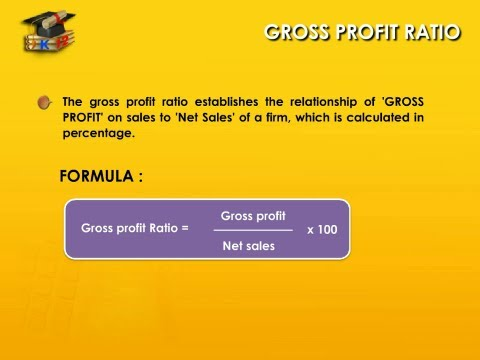 Gross Profit Ratio - Learn Accounting Online