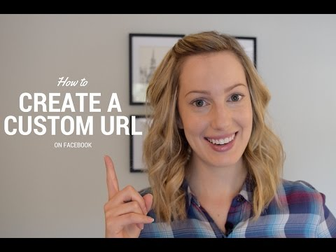 How to Create a Custom URL on Facebook